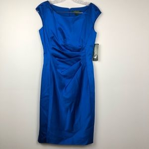 Ralph Lauren New with Tags Blue Dress Size 4